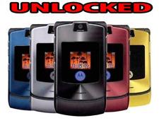 Clásico Motorola RAZR V3 Flip Cámara 2G Gsm Desbloqueado Teléfono Móvil Celular