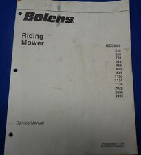 Vintage Bolens Riding Mower Service Manual - Used.