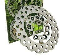 Brake Disc NG Multi Disc Wavy 190mm with KBA Sym Fiddle Jet TGB 303 202 Scooter