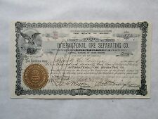 International Ore Separating Co.    1901  Maine Corporation