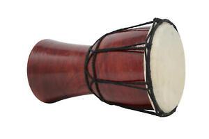 Djembe bongo drum musical instrument Handmade Percussion height 20cm