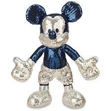 Disney Parks Mickey Sequined Plush 60th Disneyland Diamond Celebration