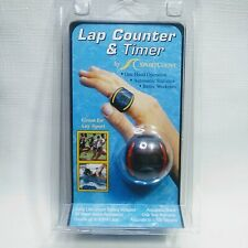 *NEW* Sportcount LCT Stopwatch Lap Counter Waterproof Swim Ring Finger Timer