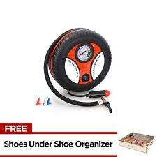 260PSI Auto Car Electric Tire Inflator with Under Shoe Organizer