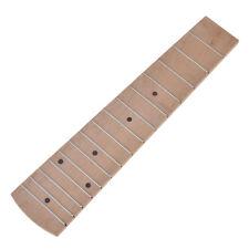 Maple Wood 21 inch Soprano Ukulele Fretboard Fingerboard 15 Frets Ukul Parts