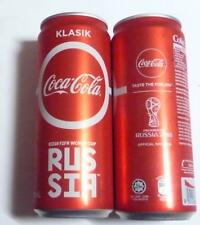 COCA COLA Coke Can MALAYSIA 330ml FIFA World Cup RUSSIA Collect 2018