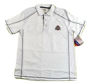 The Oval Campus Classics Mens Ohio State Buckeyes Polo NWT M, L, XL, 2XL