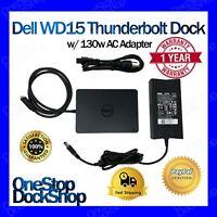 Dell WD15 Thunderbolt Dock w/ 130W AC Adapter