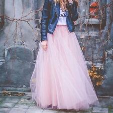 Long Petticoat Crinoline Underskirt Wedding Bridal Dress TUTU Skirt Tulle Skirts
