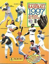 Grandes Ligas BASEBALL 1997 - Panini Album COMPLETE