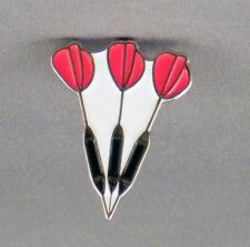3 Darts Pin Badges