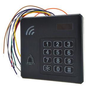 Waterproof Door Access RFID Card Tag EM Reader Keypad Gate Open Entry Control