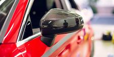 AUDI A3 S3 RS3 8V Fibra de fibra de carbono real espejo cubre