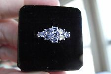 Fine Jewelry Tanzanite 10Kt White Gold Ring #59