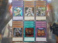 Yugioh Gravekeeper Deck Core 18 cards Necrovalley Throne Temple Supernaturalist