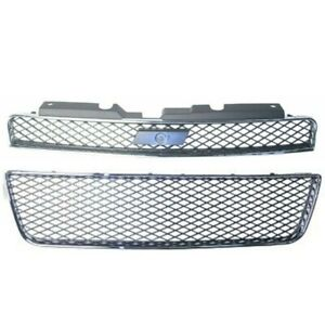 Grille Bumper Cover Grille Front For Chevrolet Impala 06-13 GM1036107 GM1200551