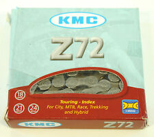 KMC Z72 Bicycle Chain 6/7/8 Speed, 116 Links