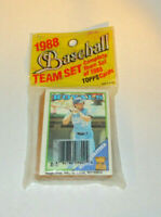 1988 Topps Baseball Team Set Cards Kansas City Royals sealed