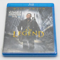 I Am Legend Blu-ray Original and Alternate Theatrical Version New/Sealed