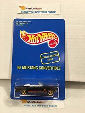 '65 Mustang Convertible 14042 * Seattle Toy Show 1995 * Hot Wheels * H41