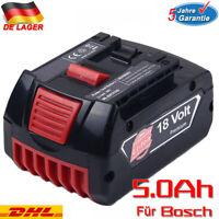 Akku für Bosch 5000mAh 18V BAT609 BAT618 GSR GSB Li-Ion BAT620 BAT610G BAT618G