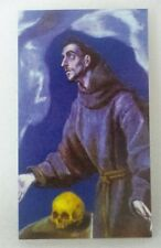 St Francis of Assisi prayer card. Four Cards.