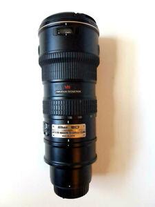 Nikon AF-S VR-Nikkor 70-200mm f/2.8G ED-IF - JAA781DA - Mint