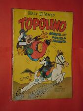 ALBO D'ORO-TOPOLINO n° 21- DEL 1953-AGENTE POLIZIA SEGRETA-mondadori- disney