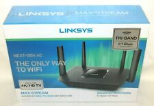 Brand New Sealed Linksys Max-Stream AC2150 Mu-Mimo TriBand Wifi 5 Router EA8250