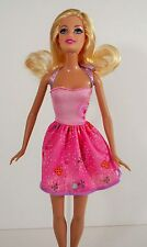 Barbie Doll Original Light And Hot Pink Outfit, Clothes / Accessories