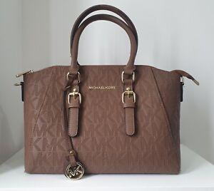 Michael Kors Handbag - Brown / Gold Trim