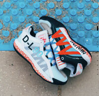 Adidas Dame 6 Pusha T FW5749 White Black Red Yeezy Boost Basketball NBA damian x