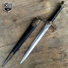 "14"" Fantasy Medieval Dagger Ornate Collectible Knife Historical Short Sword Epic"
