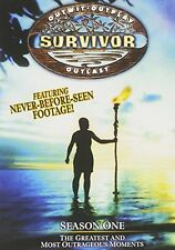 NEW Survivor - Season One - The Greatest and Most Outrageous Moments (DVD)