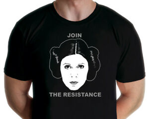Princes Leia - Join The Resistance T-shirt (Jarod Art Design)
