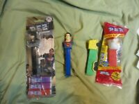 4 Vintage Pez Dispensers Mixed ASSORTED