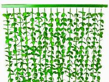 Cortina de puerta follaje verde 90x180cm