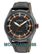 AW1184-13E,Citizen Eco-Drive Metal Watch, WR100, Low Charge Indicator, Date,Mens