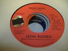 Rock 45 LEON RUSSELL Tight Rope on Shelter