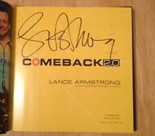 SIGNED Comeback 2.0 : Up Close and Personal by Lance Armstrong HC 1/1 + PHOTO