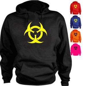 Biohazard logo funny New Present Gif Hoodie