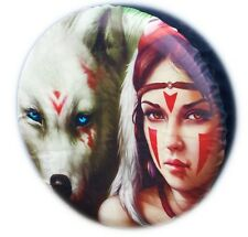 4X4 TYRE COVER GIRL WOLF SPARE WHEEL TIRE COVER CAR HONDA SUZUKI LAND ROVER NEW