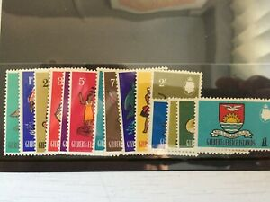 GILBERT & ELLICE ISLANDS STAMPS-1965 QEII COMPLETE MOUNTED MINT SET TO £1 -(720)