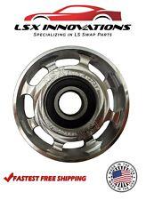 Ls Billet Aluminum Smooth Idler Pulley 27 Diameter Ls1 Ls2 Ls3 Ls6 53 60 62