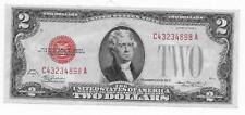 $2 USN Red Seal 1928-D CA Mule BP 269  CHCU