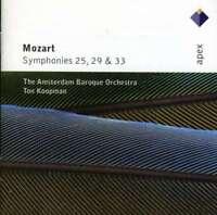 Ton Koopman & Amsterdam Baroqu - Mozart : Symphonies Amendements 25, 29 Neuf CD