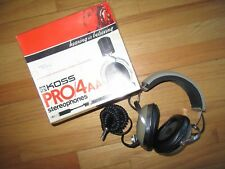9G/VINTAGE KOSS PRO4A STEREOPHONES/HEADPHONES/GREAT WORKING CONDITION/BOX!