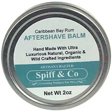 After Shave Balm For Men Caribbean Bay Rum Aftershave Balm 2oz By Spiff And Co