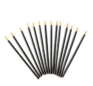 100pcs Disposable Fine Tip Makeup eyeliner brushes applicators Eye Wands Makeup