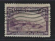 1908 Canada Scott #101 - 10c View of Quebec in 1700 Stamp - Used